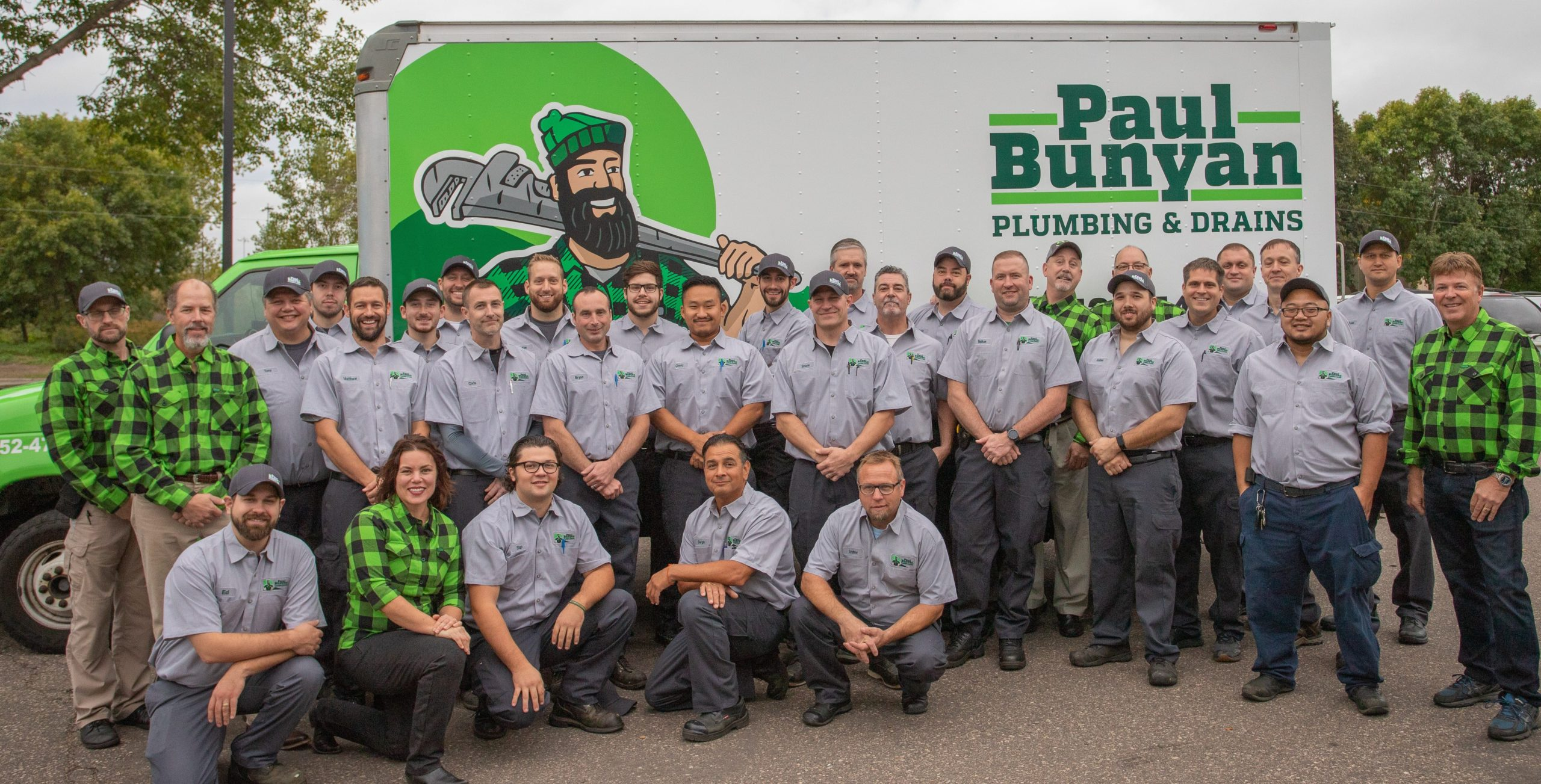 Paul Bunyan Plumbing And Drains- Serving Brooklyn Park, MN